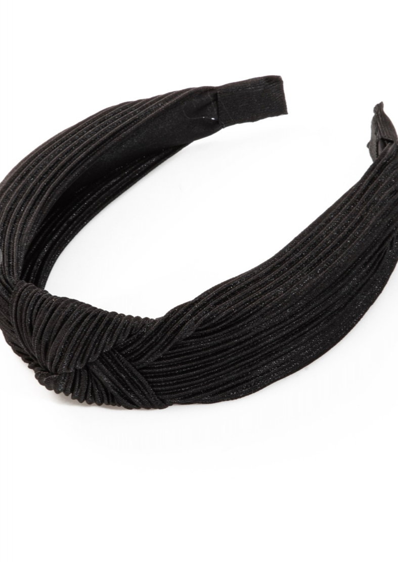 black knot headband