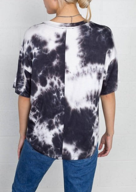 tie dyed t