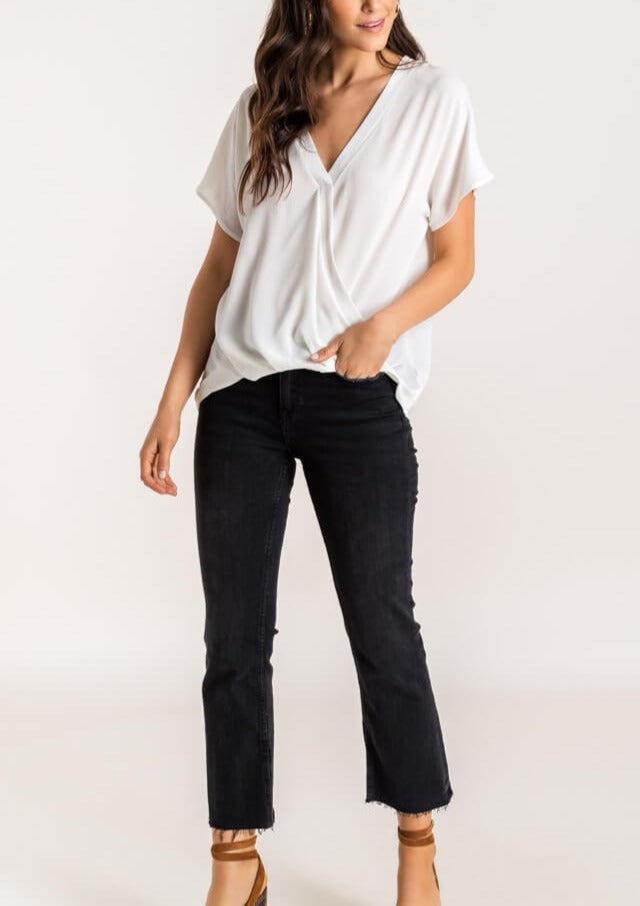 AUDREY SHORT SLEEVE TOP