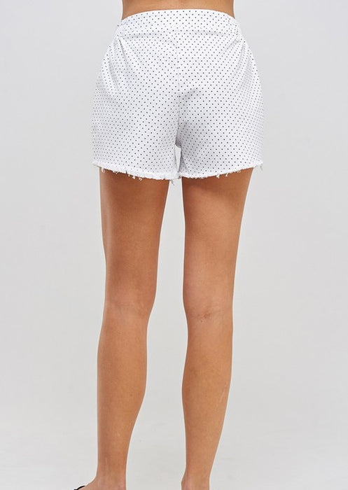 GINNY MINI POLKA DOT SHORTS