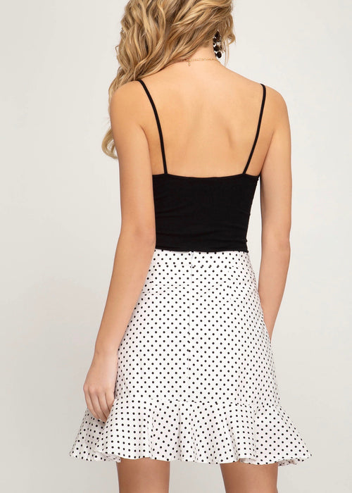 POLKA DOT SKIRT