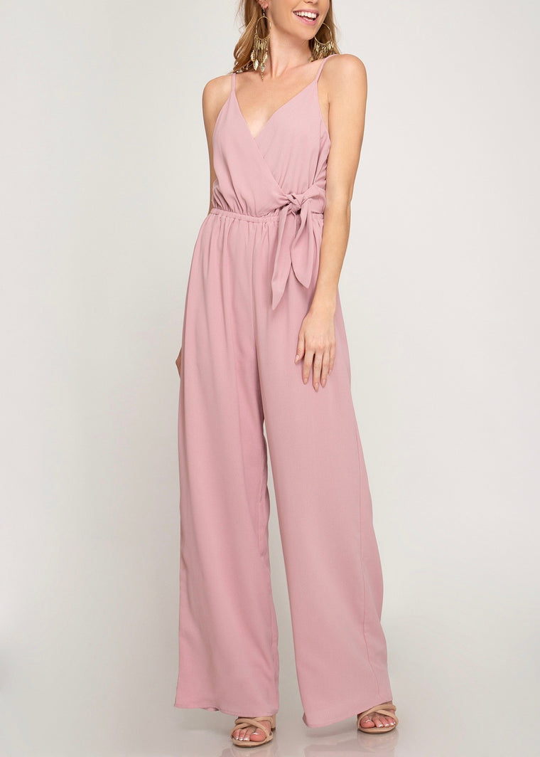 NINI SURPLACE JUMPSUIT