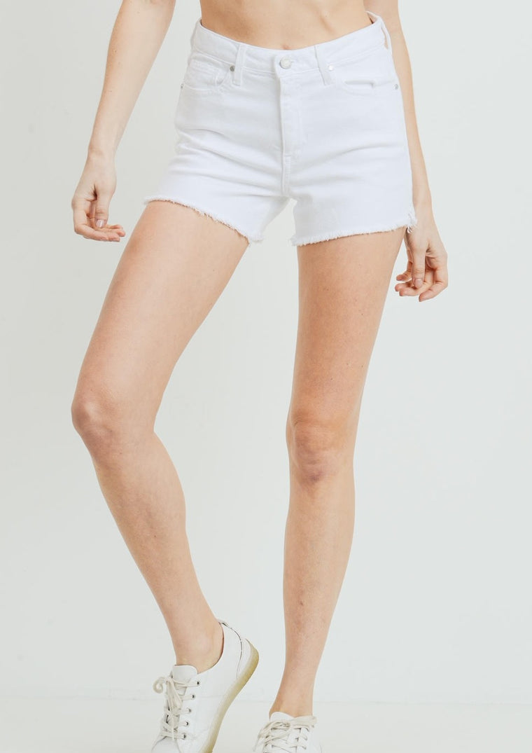 BABS FRAYED SHORTS