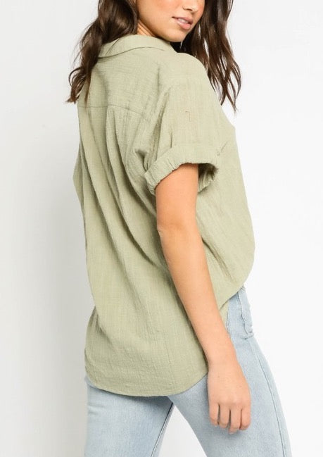 SUMMER GAUZEY TOP