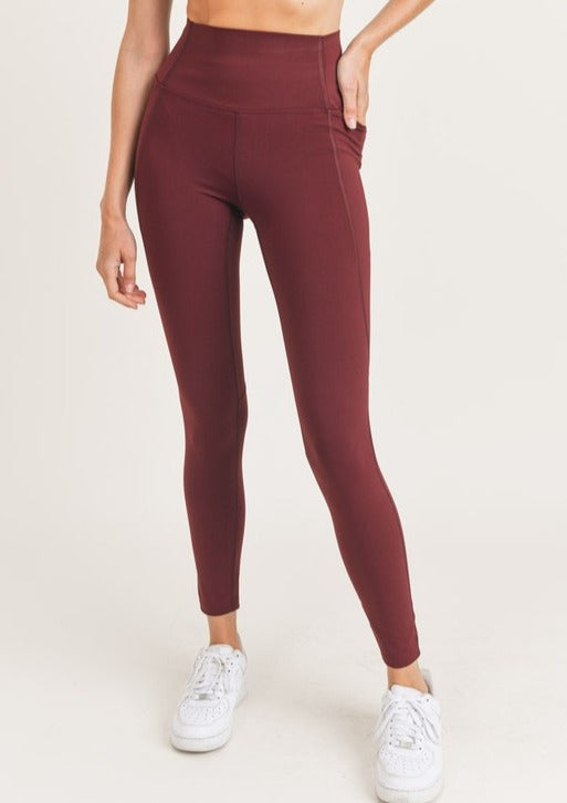 JANICE SIDE POCKET LEGGINGS