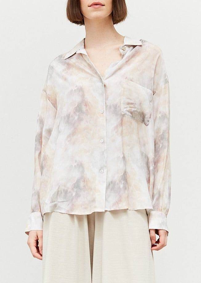MARGARET MARBLE BUTTON DOWN