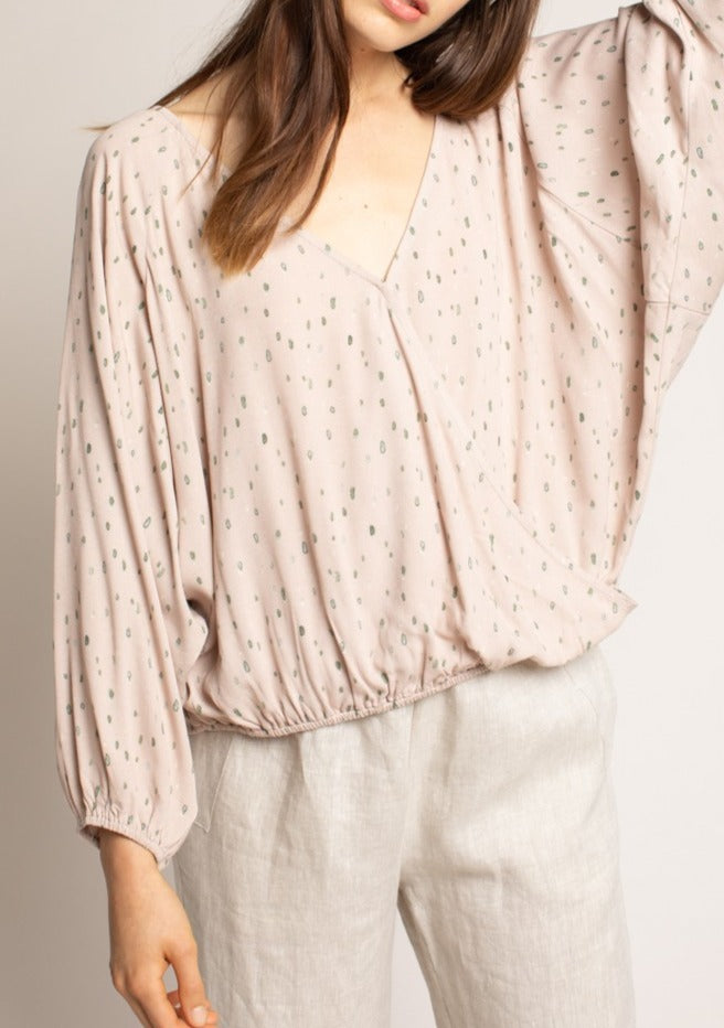 JANELLE LONG SLEEVE BLOUSE