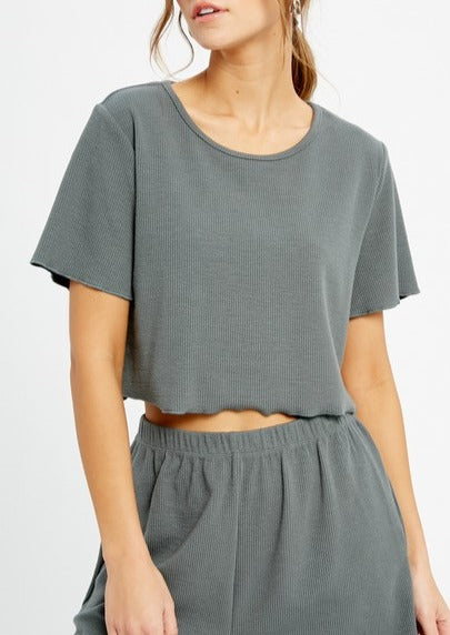knite crop top