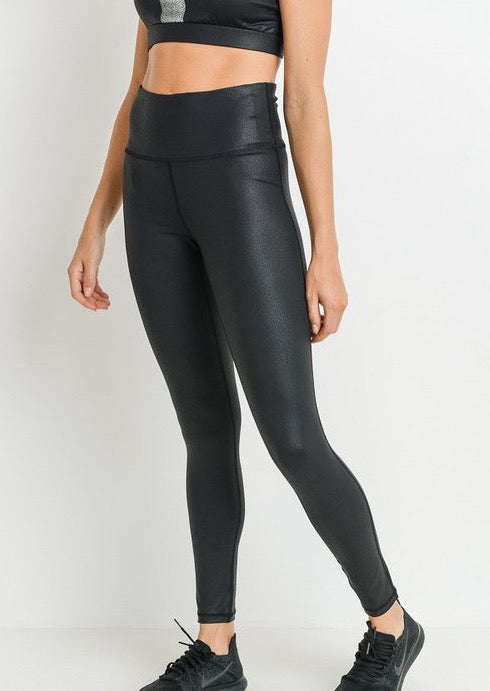 JESS FAUX LEATHER LEGGINGS