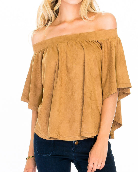 HAZEL OFF SHOULDER TOP