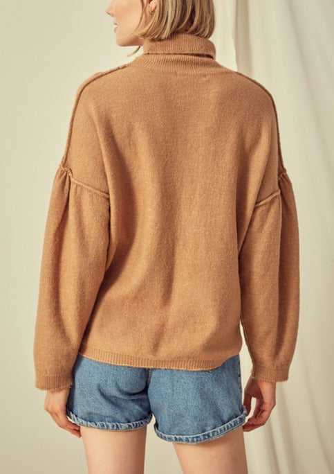 REIGNA HIGH NECK SWEATER