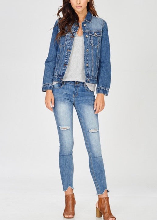 JEANNIE DENIM JACKET