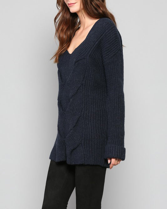 MADELINE CROSS SWEATER
