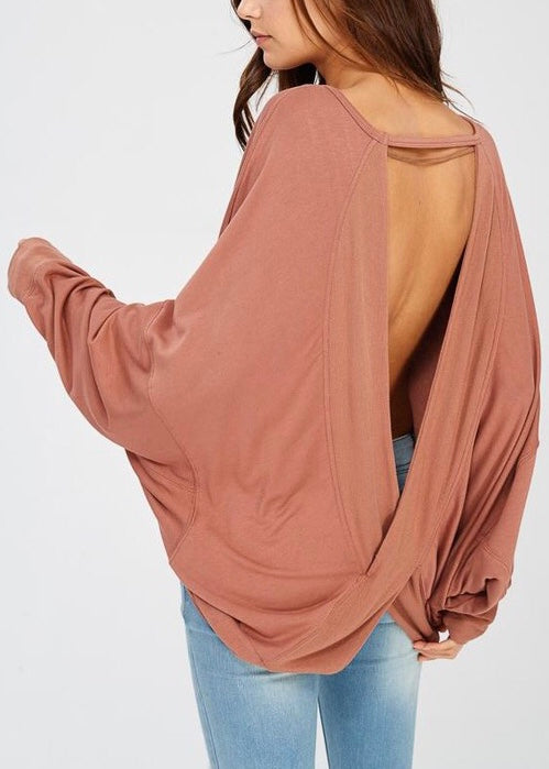 DEMI BATWING SLEEVE TOP