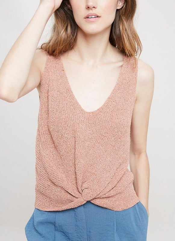 SAM TWISTED FINE SWEATER TOP