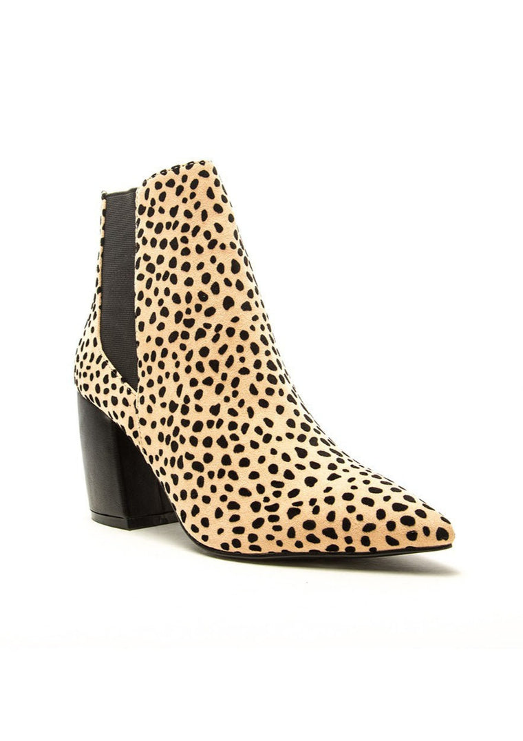 LEIGH POINTY TOE ANKLE BOOTS