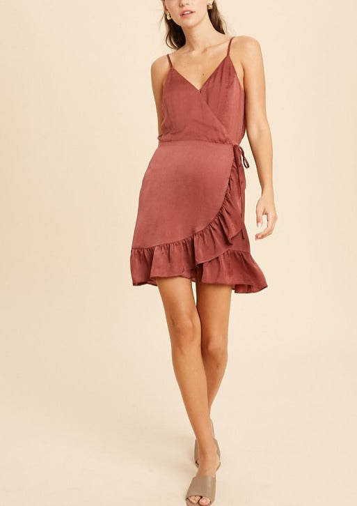 RILEY WRAP DRESS