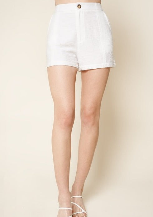 SINGLE BUTTON SHORTS