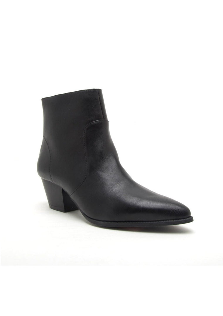 SAILOR ANKLE BOOTS WITH POINTY TOE