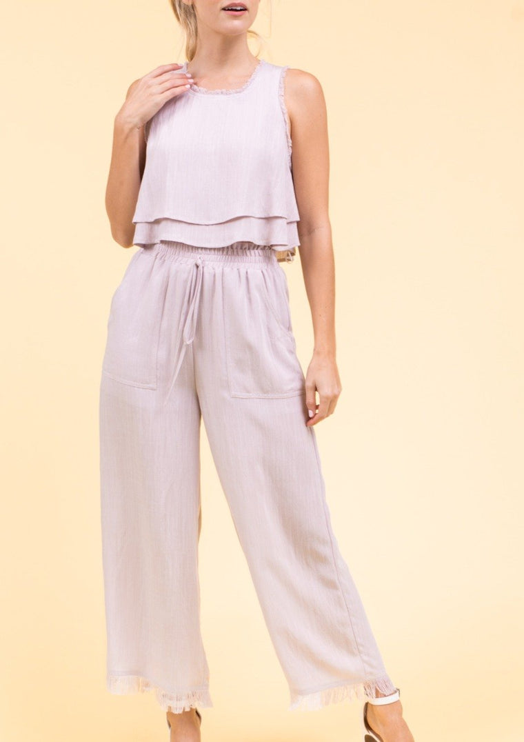 HAYLIANA WIDE LEG PANTS