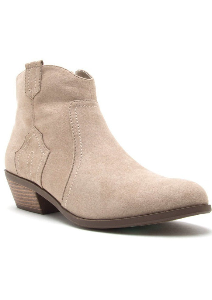 TERESA WESTERN ANKLE BOOTS