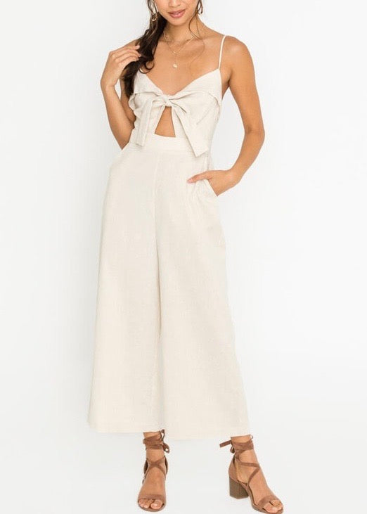 SUE CUT-OUT JUMPSUIT