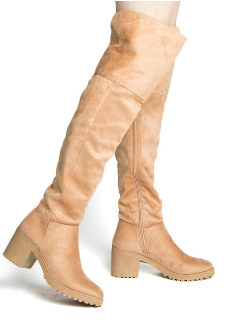 TEIGAN KNEE HIGH BOOTS