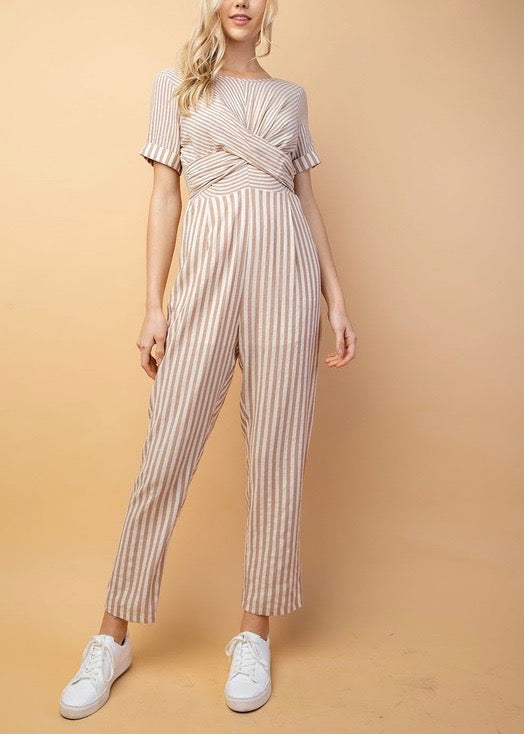 GEORGIA BACK TIE JUMPSUIT