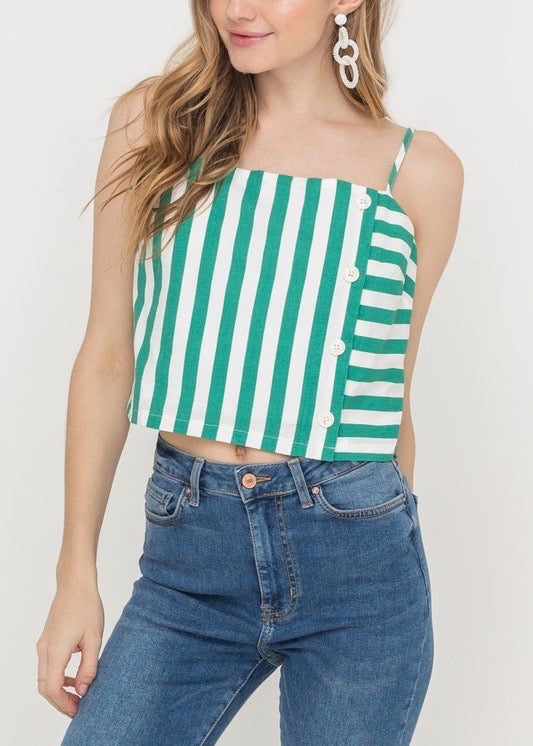 BOXY CROPPED TANK TOP