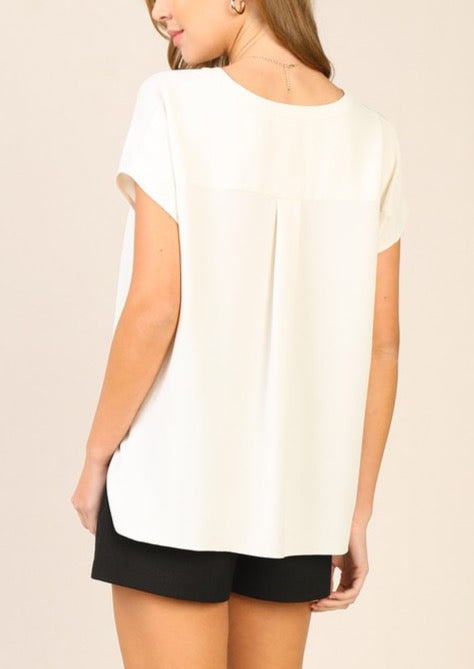 WINNIE FRONT TUCK BLOUSE