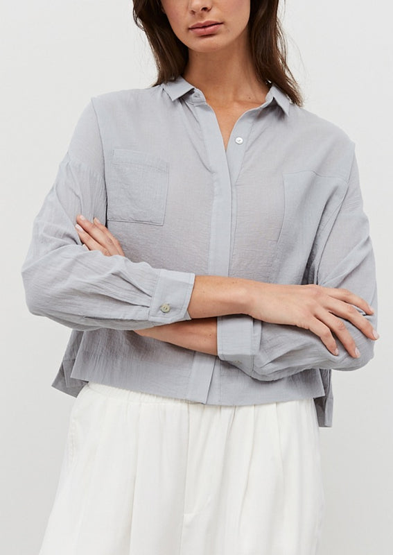 DANI BUTTON DOWN TOP