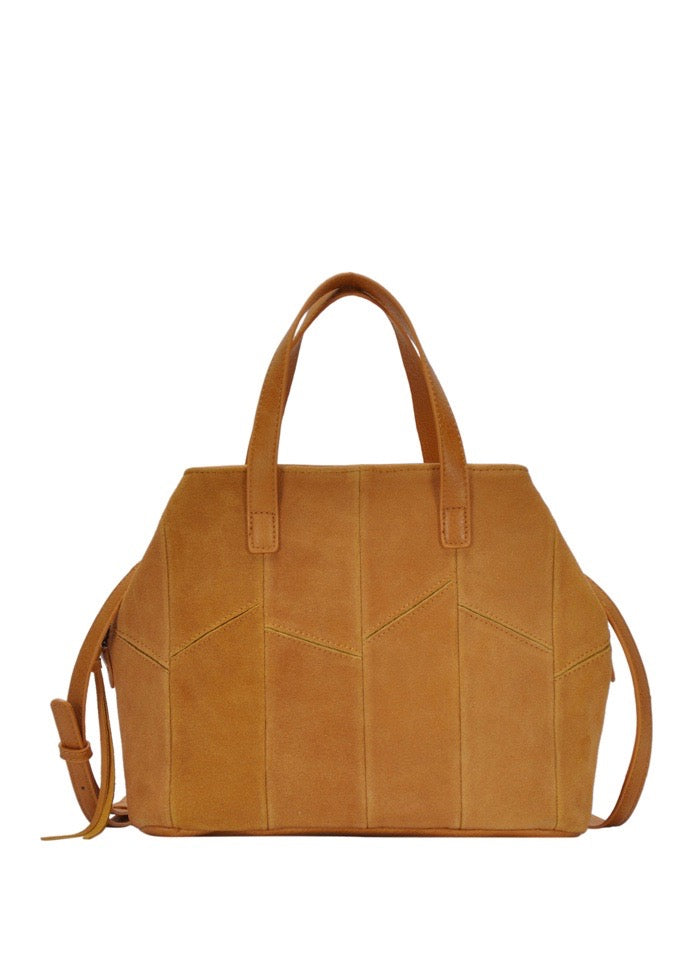 LUCIA SUEDE HAND BAG