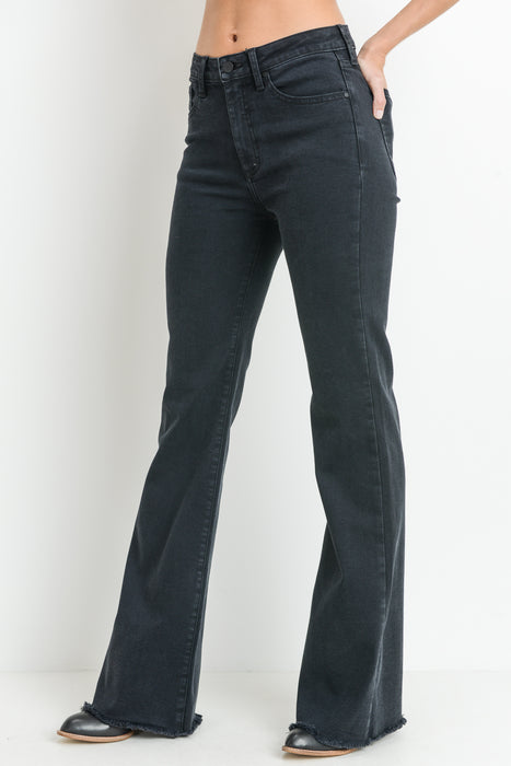 GOLDIE HIGH RISE FLARE JEANS
