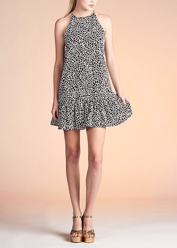 JANIS ANIMAL PRINT DRESS