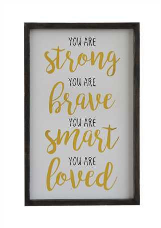 "Wall Décor ""You Are Strong"""