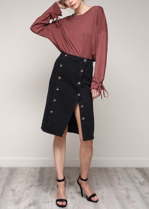 VANESSA DENIM SKIRT