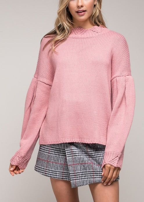 SIERRA HALF TURTLENECK SWEATER