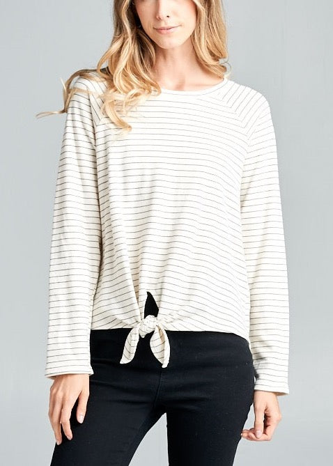 CANDICE FRENCH CREAM TOP