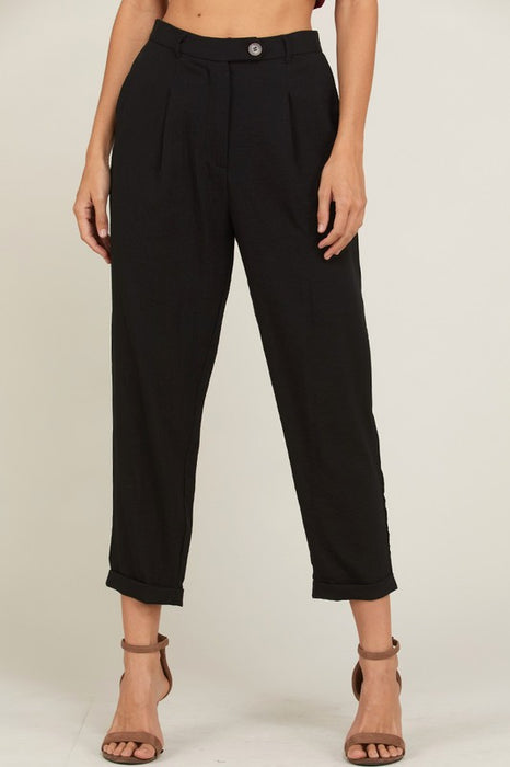 SAMANTHA HIGH WAISTED PANTS