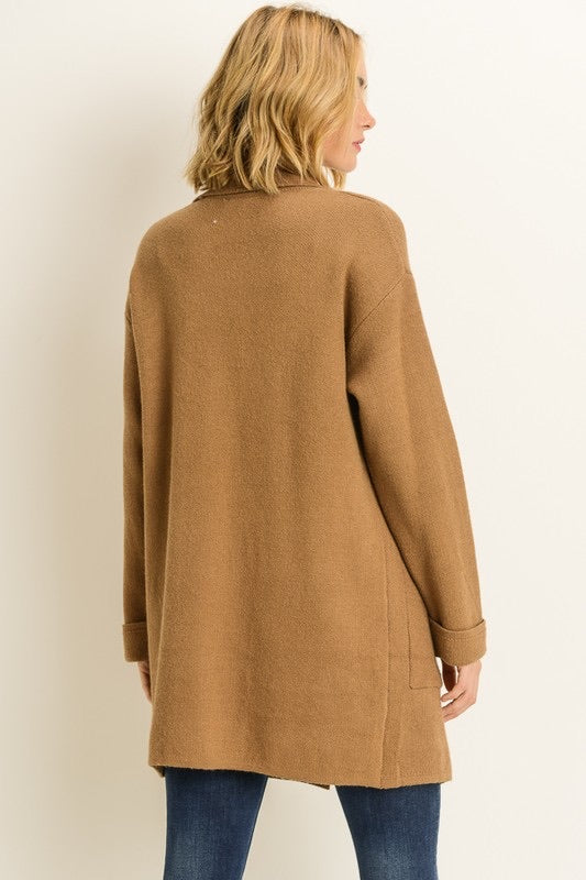 MICHELLE CAMEL SWEATER