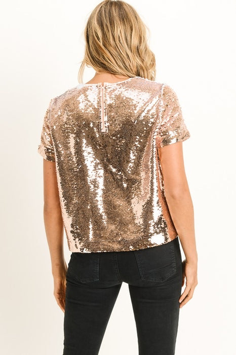 CANDICE ROSE GOLD TOP