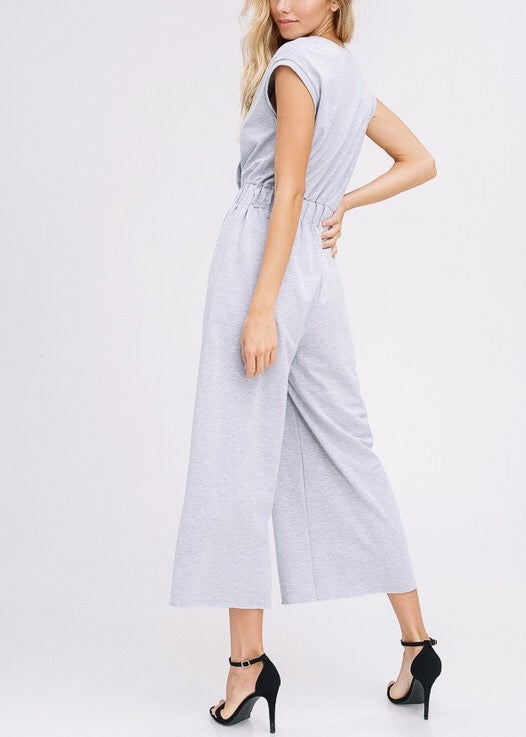 LUCY SWEAT CULOTTES JUMPSUIT
