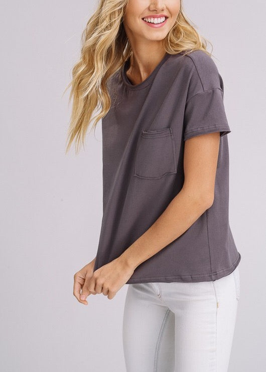 EMILY COTTON JERSEY T-SHIRT