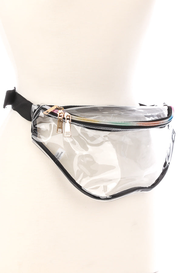 GINA GAME DAY CLEAR FANNY PACK