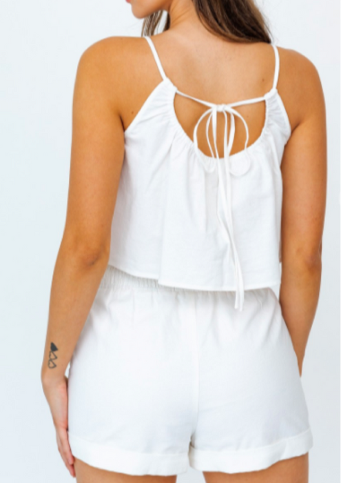 summer halter top