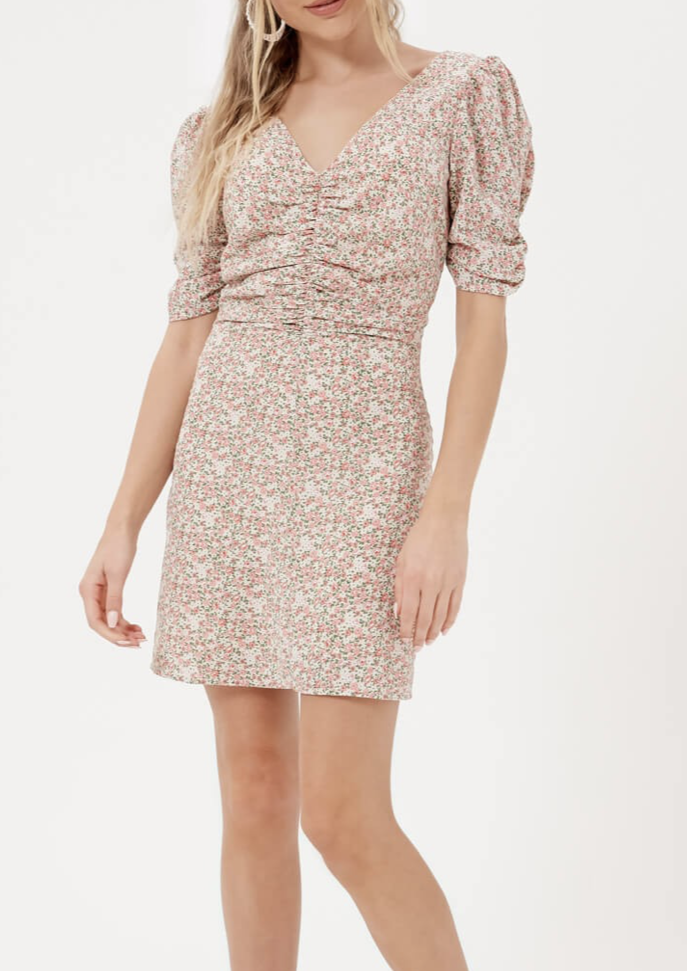 BETTY FLORAL MINI DRESS