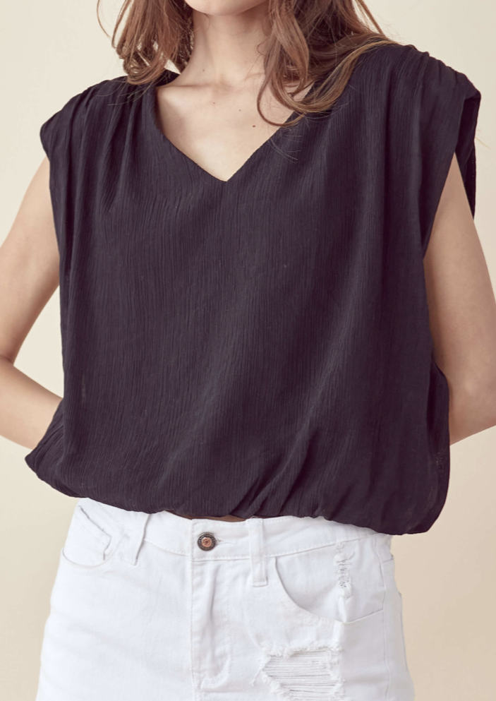 ISADORA SHOULDER PAD TANK