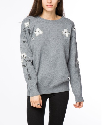 ELENA EMBROIDERED SWEATER