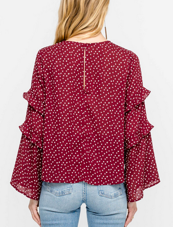 NINA BELL SLEEVE TOP