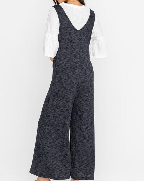 MAISON BUTTON FRONT JUMPSUIT